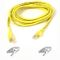 BELKIN Cable/ Patch Cat5 Assembled Yellow 0.5m