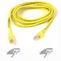 BELKIN CAT 5 PATCH CABLE 50CM MOULDED SNAGLESS YELLOW NS