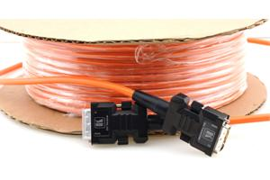 Kbl Kramer DVI-D, Single Link Fiber Optik/ koppar hybrid, 20.0m