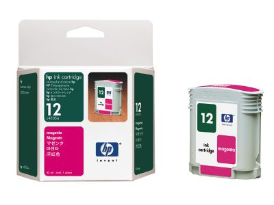 HP 12 Magenta Ink Cartridge (C4805A)