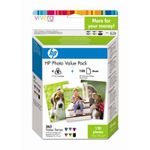 HP 363 glossy photo paper inkjet 250g/m2 100x150mm 150 sheets combopack blister multi tag + ink cartridge colour