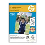 HP Advanced glättat fotopapper - 25 ark/10 x 15 cm utfallande