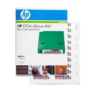 Hewlett Packard Enterprise LTO-4 Ultrium Read/ Write Bar Code Label Pack (Q2009A)