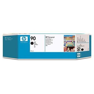 HP 90 775 ml 3-pack svart bläckpatron (C5095A)