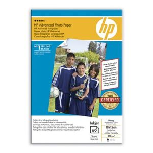 HP Advanced glanset fotopapir, 60
