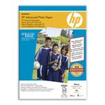HP Advanced glanset fotopapir, 50