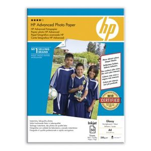HP Advanced glättat fotopapper - 50 ark/ A4/ 210 x 297 mm (Q8698A)