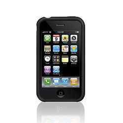 iPhone 3G Lines Silicon Sleeve/ Black