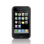 iPhone 3G Leather Laminate/ Black