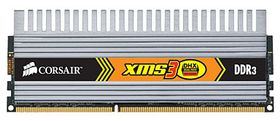 TWIN3X 1600MHz DDR3, 2GB, DHX, 2x1GB, XMP (Intel Extreme), CL7-7-7-20