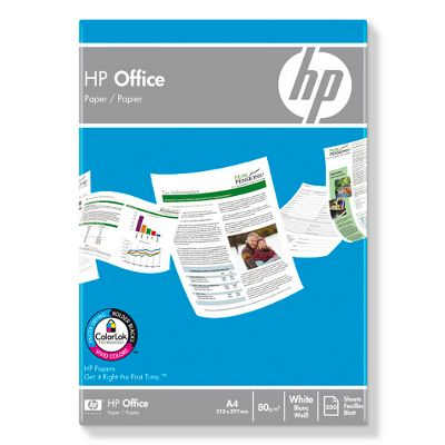 HP Office Paper white A 4, 80 g, 500 sheets    CHP 110
