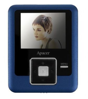 "MP4 Player Audio Steno AU824 2GB 1.8"" Color-TFT Video Photo Browsing FM-Stereo"