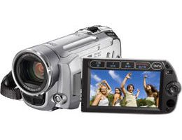 VIDEO FS10 SD Flash, 8GB internminne,  1MP, 37X optisk zoom, 2.7 LCD ND