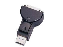 Displayport Adapter. Displayport/ Male to DVI/ Female