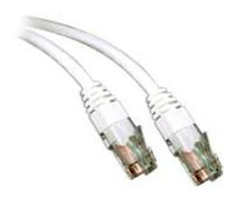 Patchcable Cat.6 UTP 0.5m White