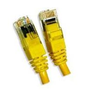 Patchcable Cat.6 UTP 1m Yellow