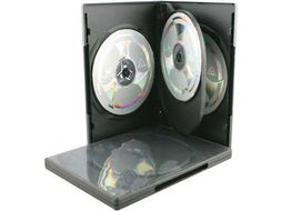 CC DVD Cover For 4 DVD Hardcover 5 Pack (DVD-54)