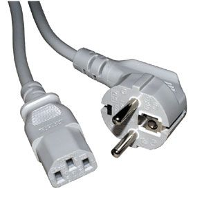 Power Cable R/A CEE 7/7 Plug >IEC 320-C13