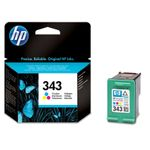 HP 343 Ink 7ml color DJ5740 6540 6840 PS325 375 8150 PSC2355 2610 2710 (ML)