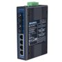 ADVANTECH Industriell nätversksswitch,  4+2 portar, 10/100 Mbps, 4xRJ45/ 2xSC,  MM