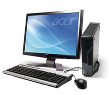 ACER Aspire L3600 Core 2 Duo E4500 2.20GHz/ 2048MB/ 500DVD/ Shared Intell Media Accelator 3100/ Trådkybd/ mus/ WL/ TvT/ VHP (92.6DL9Z.NYT)