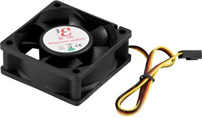 Case Fan 60x60x25 - 22 7dBa - Black