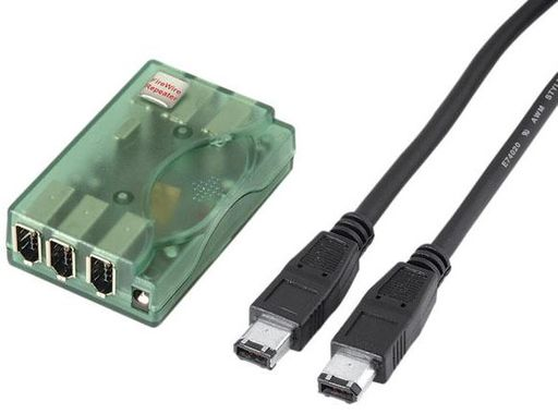 Fire Wire 6-port IEEE 1394 REP
