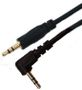 AIC Audiokabel 3,5mm - 10 m 90° 3,5mm - 3,5mm Vinklet