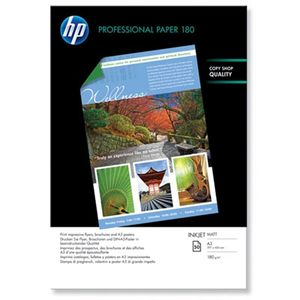 HP Professional matt Inkjet-papir – 50 ark/ A3/ 297 x 420 mm (Q6591A)