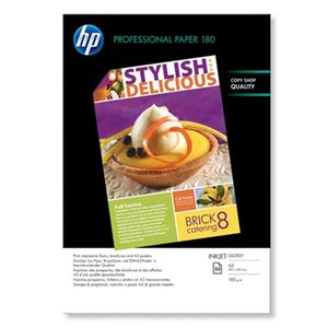 HP Professional glanset papir for