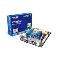 MOTHERBOARD AT3N7A-I ATOM 330 NVIDIA ION FSB533MHZ DDR2 AUDIO RETAIL