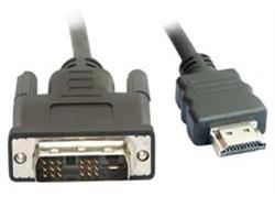 HDMI Cable Male - DVI-D Male 5 Meter