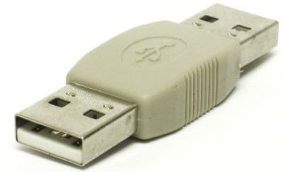 1MAG USB- Adapter  A - A  Han/Han (USB-AA-MM)