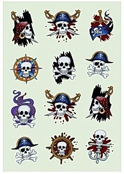 Stickers HERMA Decor pirater