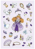 Stickers HERMA Decor prinsessor