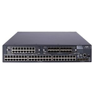Hewlett Packard Enterprise 5800-48G Switch with 2