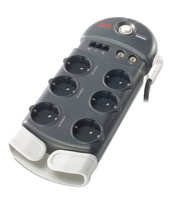 APC Home/ Office SurgeArrest 6 outlets with Phone & Coax Protection 230V