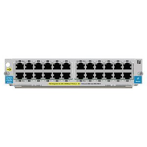 Hewlett Packard Enterprise 24-port Gig-T PoE+ v2