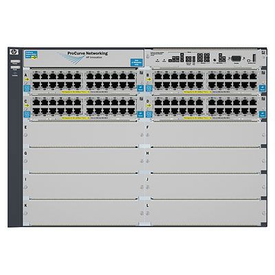 5412-92G-PoE+-4G v2 zl Switch with Premium Software