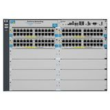 Hewlett Packard Enterprise 5412-92G-PoE+-2XG v2 zl Switch with Premium Software
