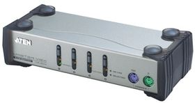 ATEN 4p PS2 KVM  for USB, SUN Cable (CS84AC-AT)