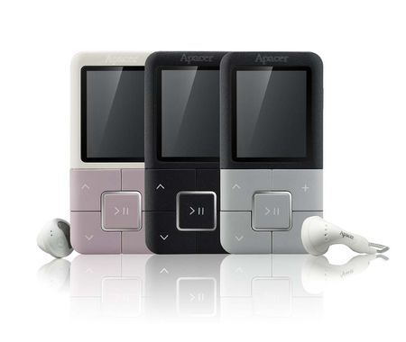 "MP4 Player Audio Steno AU825 4GB Blush Pink 1.8"" Color TFT display Ultra Slim & Light Design Audio & Video Playback e-Book"