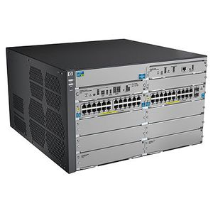 Hewlett Packard Enterprise 8206-44G-PoE+-2XG v2 zl Switch