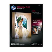 HP Premium Plus glättat fotopapper 20 ark/13 x 18 cm (CR676A)