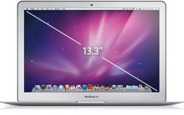 "MacBook Air 13.3"" 1.86GHz Intel Core 2 Duo, 2GB 1066MHz DDR3 SDRAM, 128GB Flash Storage"