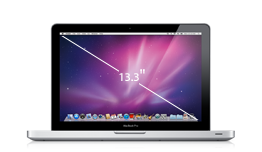 "MacBook Pro 13"" Dual-Core i5 2.3GHz, 4GB, 320GB, HD Graphics, SuperDrive"