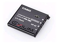 CASIO NP-60 batteri 720mAh for Z80 og S10