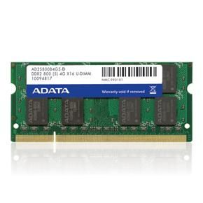 A-DATA 1GB DDR2 800MHz SO Dimm PC2-6400, 1x200 SO Dimm (AD2S800B1G6-R)