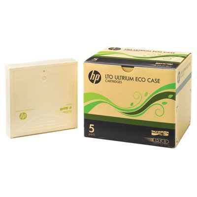 LTO-1 Ultrium 200GB Eco Case Data Cartridges 5 Pack