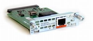 1-PORT ISDN WAN INTERFACE CARD DIAL AND LEASED LINE UK